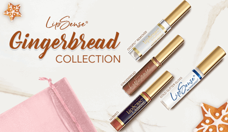 Gingerbread LipSense Collection