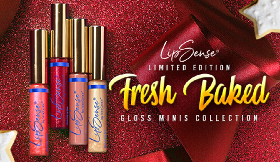 Fresh Baked Holiday Scented Gloss Mini Collection